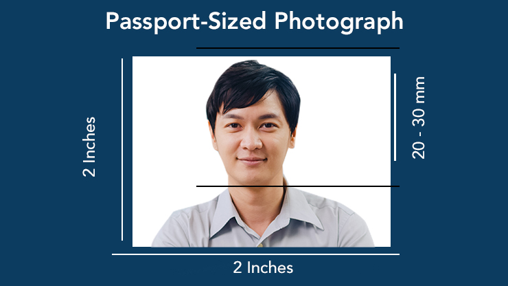 Passport-Photo for submission online to the Electronic PR (e-PR) portal