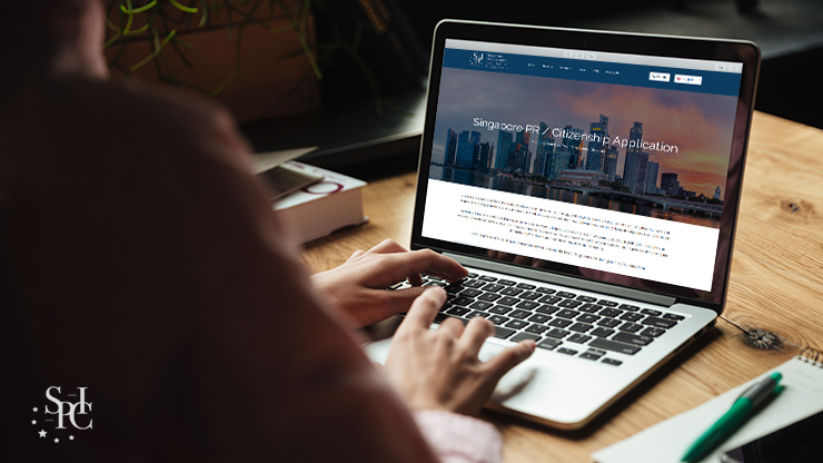 Reviewing A Singapore PR and Citizenship Application Page